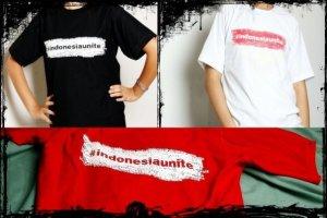 Contoh kaus Bolbal buatan teman-teman di Malang